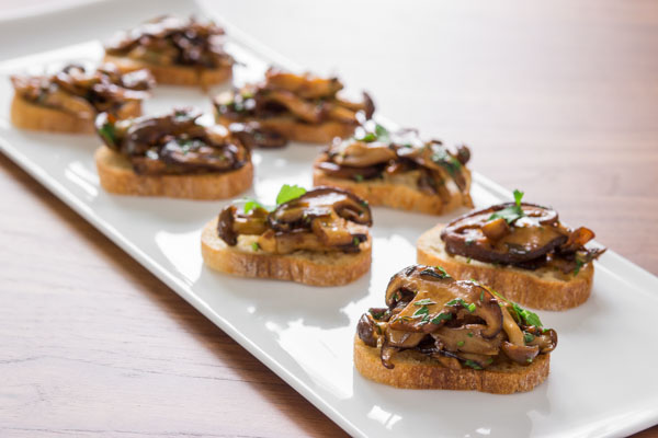 Mushroom Bruschetta Recipe | Fresh Tastes Blog | PBS Food