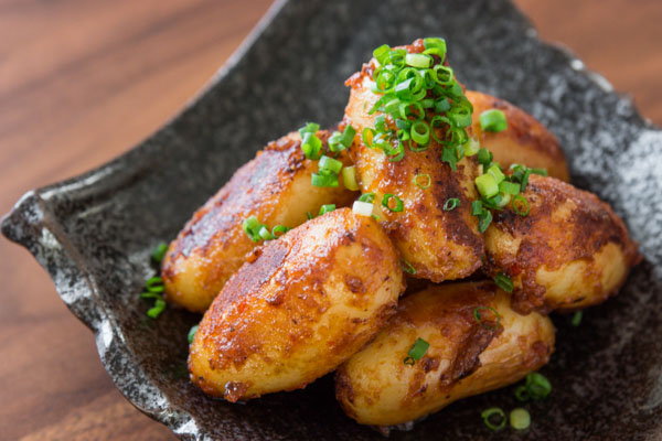 Spicy Miso-Glazed Potatoes