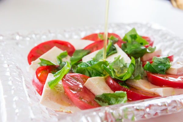 Go Vegan with Caprese Salad