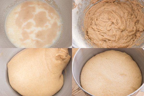 Whole Wheat Brioche Bun recipe