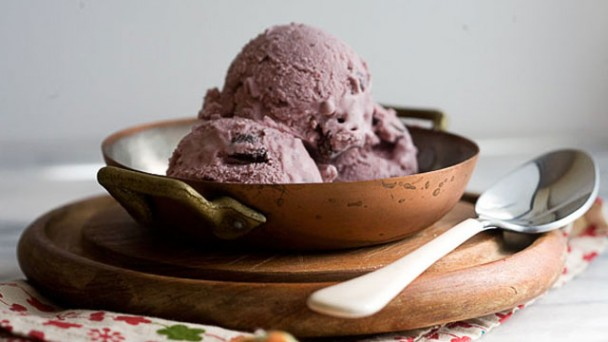 Cherry Dark Chocolate Ice Cream