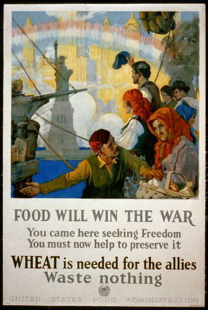 Food Will With the War poster