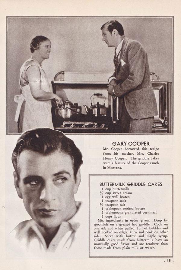 Gary Cooper's Buttermilk Griddle Cake Recipe