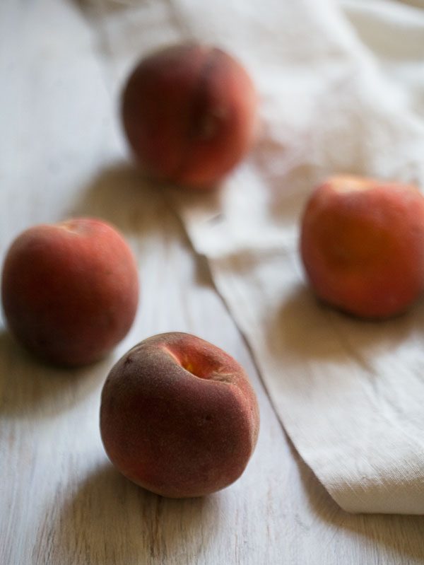 Peach and Pistachio Galette recipe