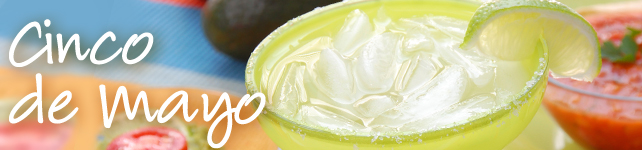 Celebrate Cinco de Mayo with Margarita Recipes custom banner