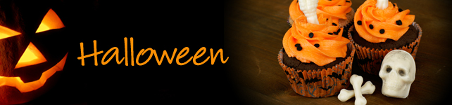 Halloween Recipes, Costumes, and More custom banner