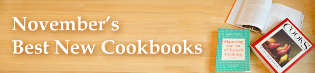 This Month's Best New Cookbooks: November 2012 custom banner