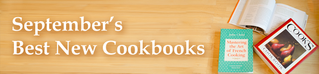 This Month's Best New Cookbooks: September 2013 custom banner
