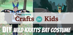 Wild Kratts Bat Costume