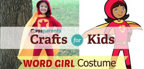 Word Girl Costume