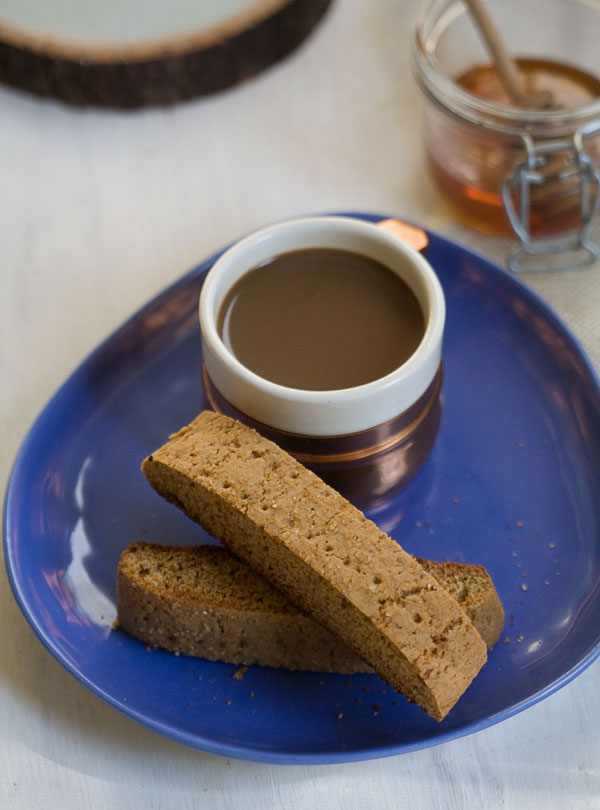 Honey Graham Biscotti recipe