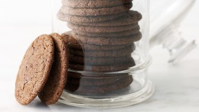 Chewy Chocolate Ginger Molasses Cookies recipe
