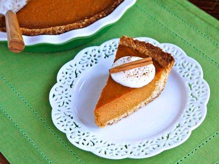 Coconut Pumpkin Pie recipe