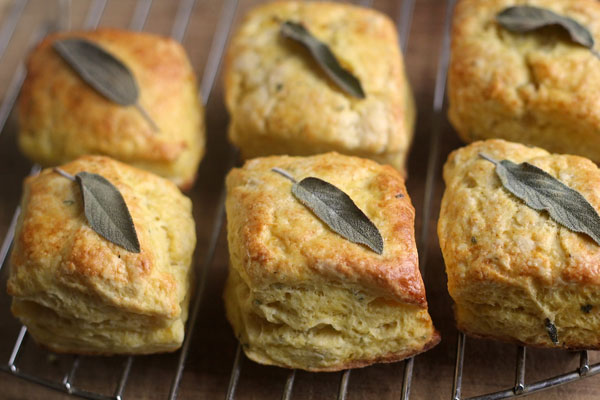 Delicata Squash Biscuits recipe