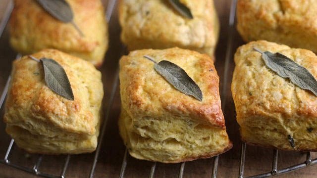 Delicata Squash Biscuits recipe