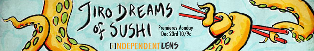 Jiro Dreams of Sushi custom banner