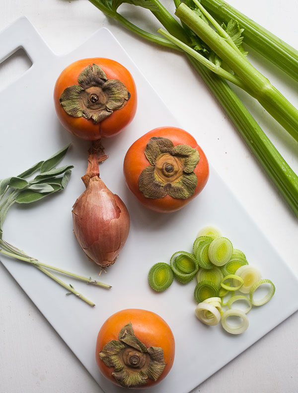 Persimmon and Sage Stuffing recipe