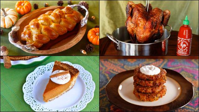 Thanksgivukkah Recipes