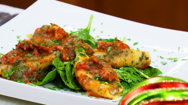 Jazzy-Vegetarian-Stuffed-Shells