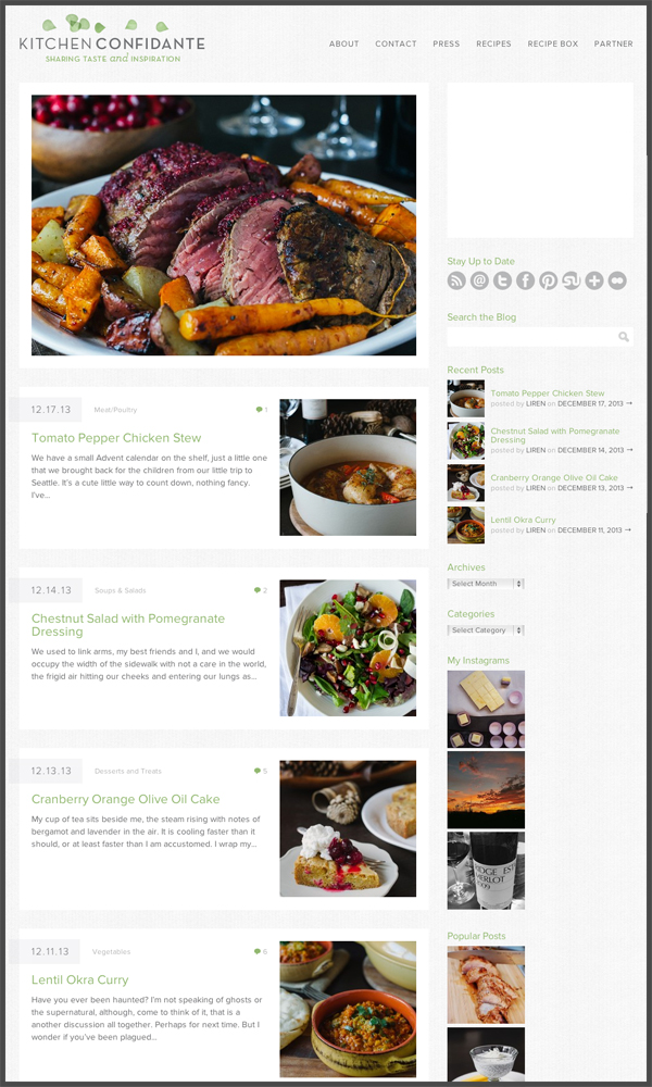 10 best food blogs of 2013 pbs food kitchen confidante forumfinder Choice Image