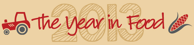 The Year in Food 2013 custom banner
