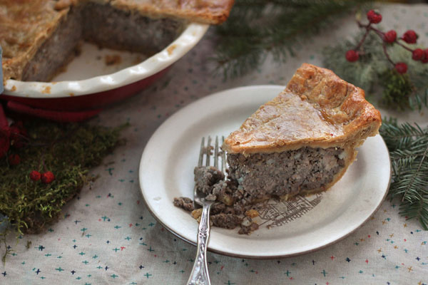 Christmas Tourtiere recipe
