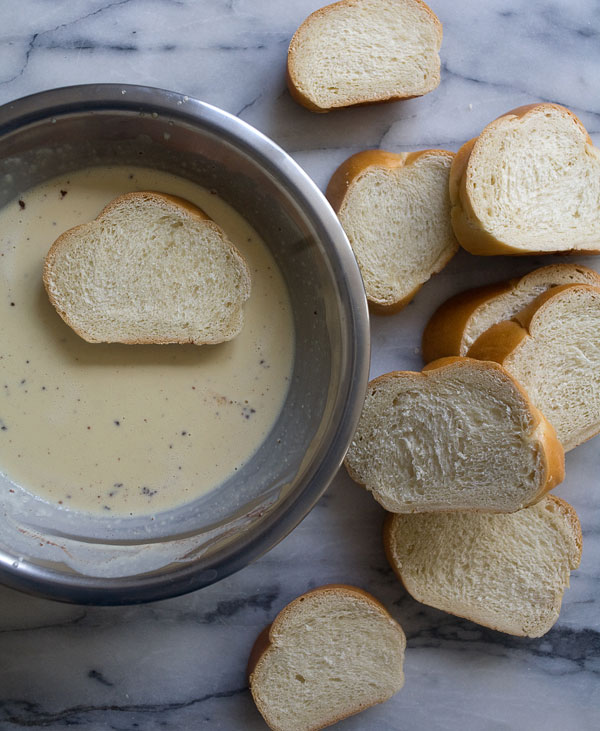 Creme Anglaise French Toast recipe