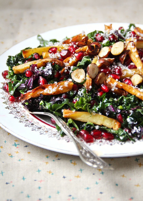Kale Parsnip Salad recipe