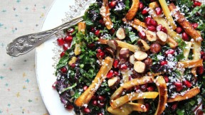 Kale Parsnip Salad recipe