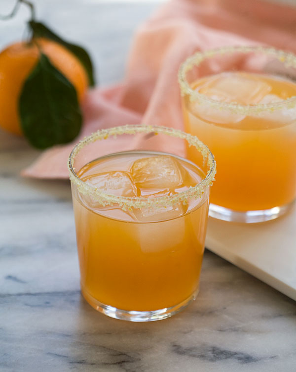 Satsuma Orange Margaritas recipe