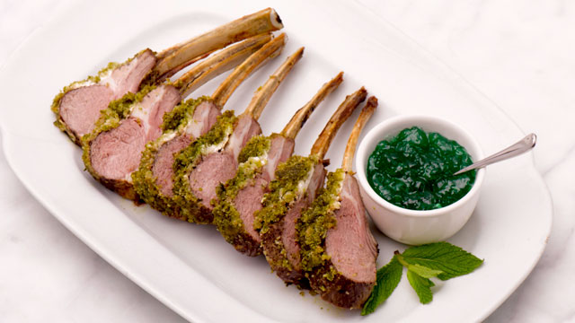 Roast Rack of Lamb Recipe | Entree Recipes | PBS Food