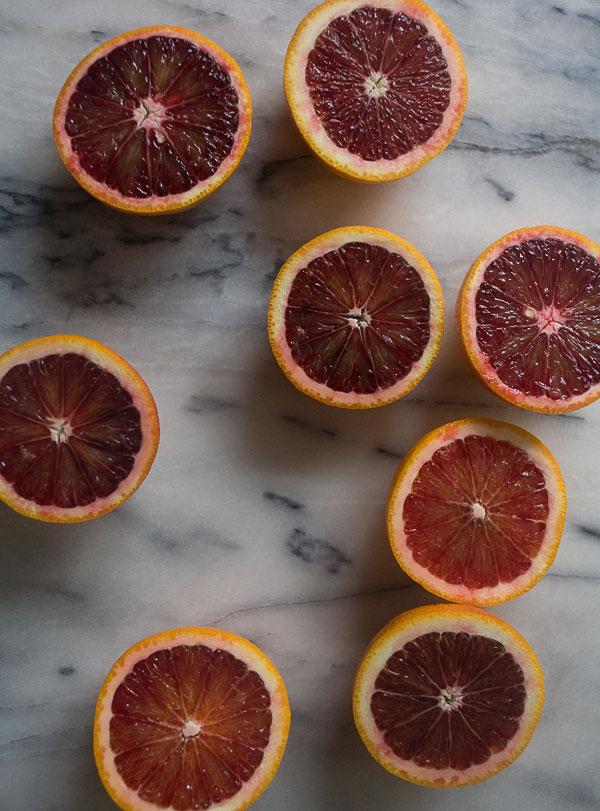 Blood Orange Granita recipe