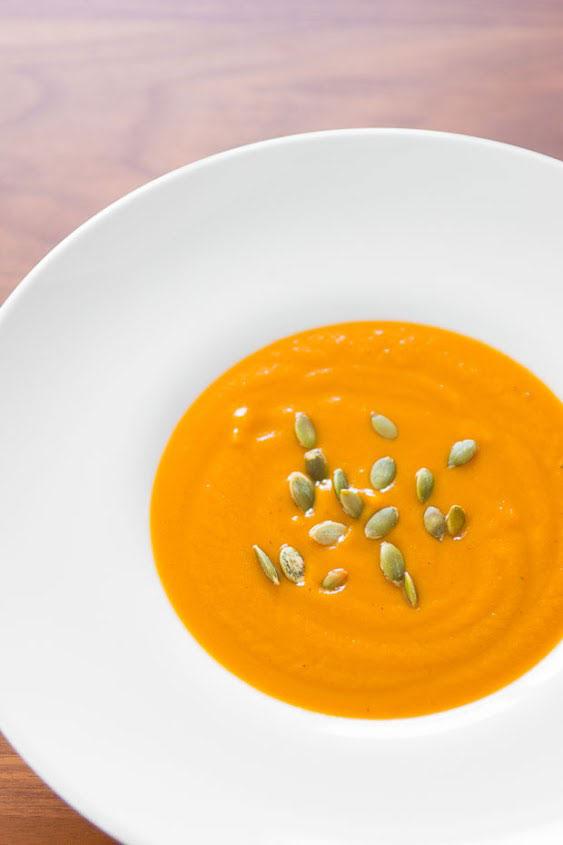 Butternut Squash and Garlic Soup recipe