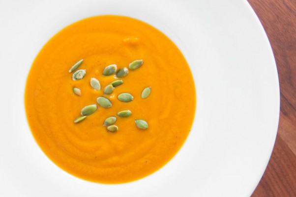 Butternut Squash and Garlic Soup recipe