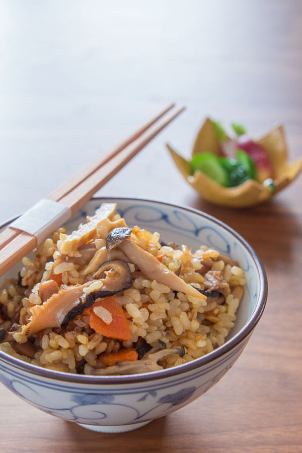 Gomoku Gohan recipe