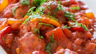 Pepper Chicken Stew recipe