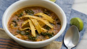 Kale, Barley, and Lentil Soup recipe