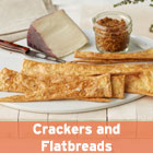 Martha Bakes Crackers and Flatbreads episode