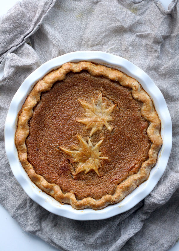canadian-maple-syrup-pie- http://www.pbs.org/food/kitchen-vignettes ...