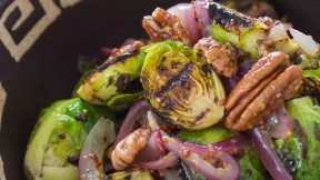 Grilled Brussels Sprout recipe