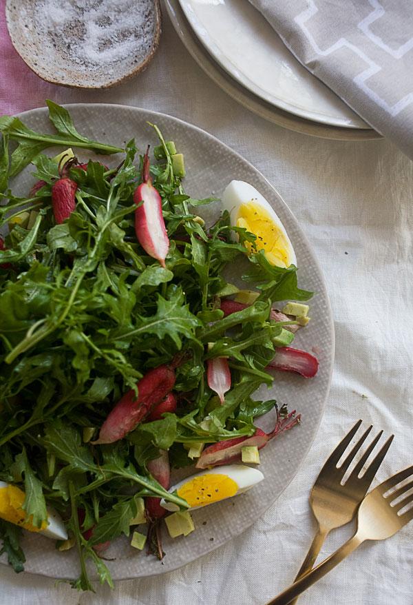 Roasted Radish Salad recipe