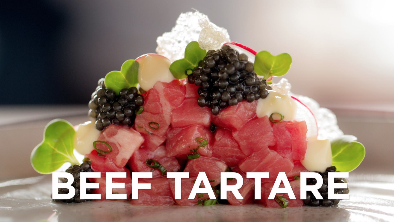 how to make beef tartae