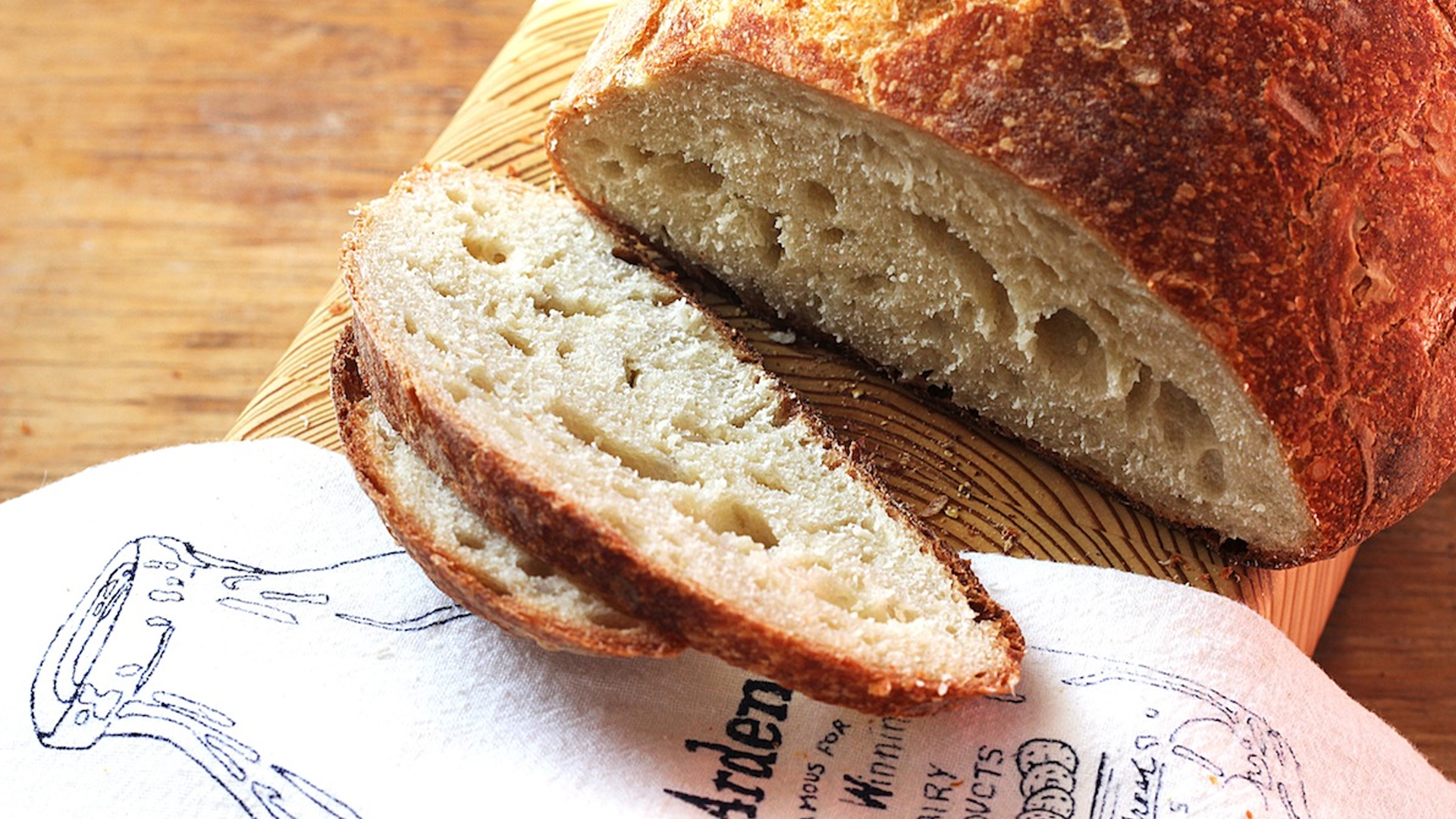 No-Knead Bread Recipe | Bread Recipes | PBS Food