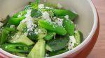 Cucumber Snap Pea Salad recipe