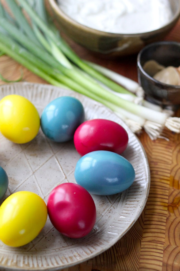 Easter Deviled Eggs recipe