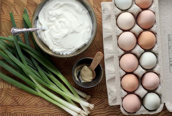 Easter Deviled Eggs recipe