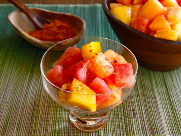 Make Ensalada de Frutas con Chile for Cinco de Mayo to celebrate Mexican heritage and pride.