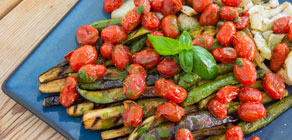 Ratatouille with Grilled Vegetables recipe