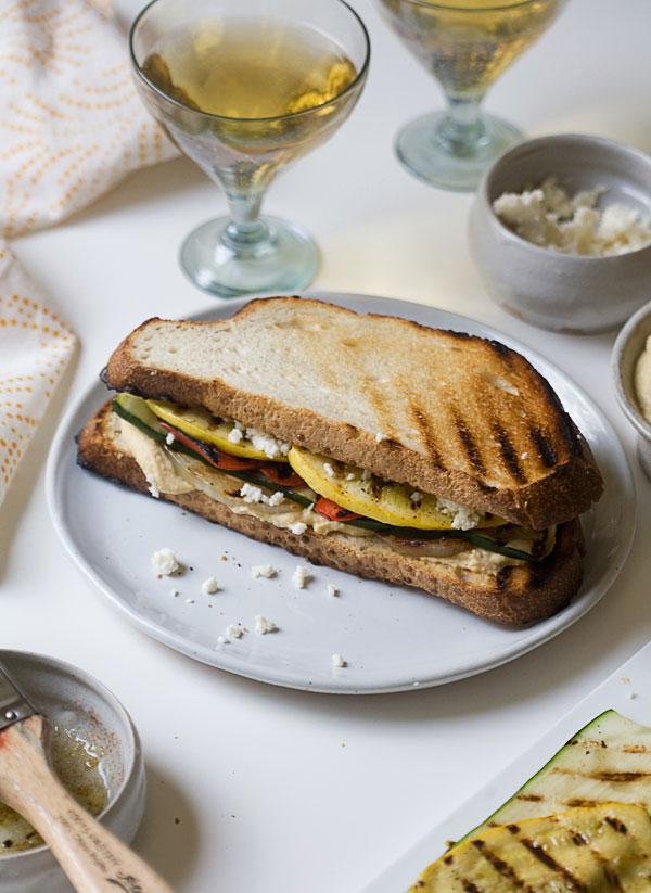 Grilled Veggie Sandwich recipe
