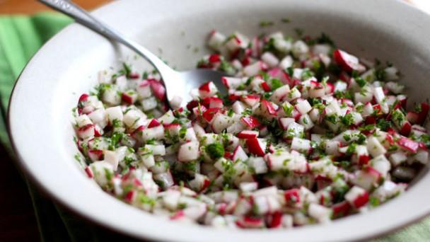 Spring Radish Salad recipe